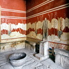 The throne room at Knossos Palace 2004 (Vasilis Kozonakis)