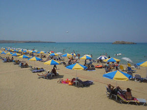 Amnissos beach - photo from GBOrion