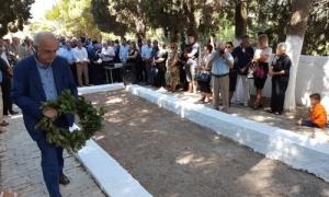 Ο Πρόεδρος της ΠΕΔ Κρήτης και Δήμαρχος Ηρακλείου Βασίλης Λαμπρινός στο ετήσιο μνημόσυνο των Εκτελεσθέντων του ΣοκαράΣτο ετήσιο μνημόσυνο των 27 μαρτύρων, κατοίκων του χωριού Σοκαρά, οι οποίοι εκτελέσθηκαν από τα γερμανικά στρατεύματα την 17η Αυγούστου του 1944, παρευρέθηκε το πρωί της Παρασκευής 17 Αυγούστου ο Πρόεδρος της ΠΕΔ Κρήτης και Δήμαρχος Ηρακλείου Βασίλης Λαμπρινός.