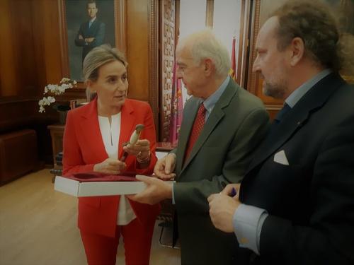 Δήμαρχος Ηρακλείου Βασίλης Λαμπρινός - Επίσκεψη Τολέδο