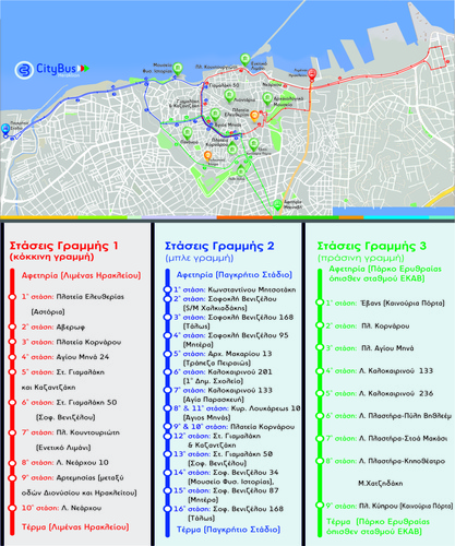 city bus map
