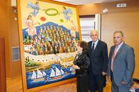 Παρουσιάστηκε ο πίνακας του Αριστόδημου για τους 62 ΜάρτυρεςΠαρουσιάστηκε το μεσημέρι της Τετάρτης 12 Ιουνίου, στην αίθουσα εκδηλώσεων, στον 2ο όροφο της Βικελαίας Βιβλιοθήκης, ο πίνακας του ζωγράφου Αριστόδημου με θέμα τους 62 Μάρτυρες, οι οποίοι είχαν εκτελεστεί από τους Γερμανούς κατακτητές, τον Ιούνιο του 1942.