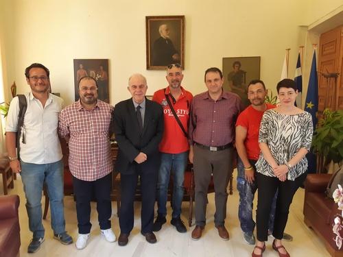 Δήμαρχος Ηρακλείου Βασίλης Λαμπρινός - Ομάδα Allegri