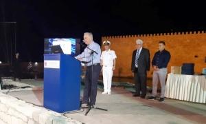 Στην εκδήλωση για τα 100 χρόνια του Λιμενικού ο Δήμαρχος Ηρακλείου Βασίλης ΛαμπρινόςΣτην εκδήλωση για την συμπλήρωση 100 χρόνων από την ίδρυση του Λιμενικού Σώματος – Ελληνική Ακτοφυλακή παρευρέθηκε το βράδυ της Πέμπτης 11 Ιουλίου ο Δήμαρχος Ηρακλείου Βασίλης Λαμπρινός.