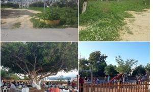 Πραγματοποιήθηκαν τα εγκαίνια του Πάρκου Καραμανλή – Δήμαρχος Ηρακλείου Βασίλης Λαμπρινός: «Απαραίτητοι περισσότεροι χώροι πρασίνου στις γειτονιές»Πραγματοποιήθηκαν το απόγευμα της Παρασκευής 12 Ιουλίου τα εγκαίνια του Πάρκου Καραμανλή, στην περιοχή του Δειλινού, παρουσία του Δημάρχου Ηρακλείου Βασίλη Λαμπρινού, Αντιδημάρχων, μελών της Δημοτικής Αρχής και πολλών κατοίκων της περιοχής.