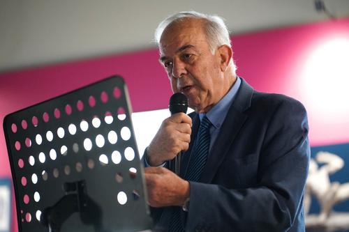 Δήμαρχος Ηρακλείου Βασίλης Λαμπρινός - Εγκαίνια Έκθεσης για τον Ελ Γκρέκο