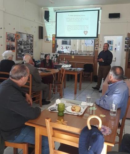 Ομιλία για την αρτηριακή πίεση στοΚΗΦΗ Νέας Αλικαρνασσού