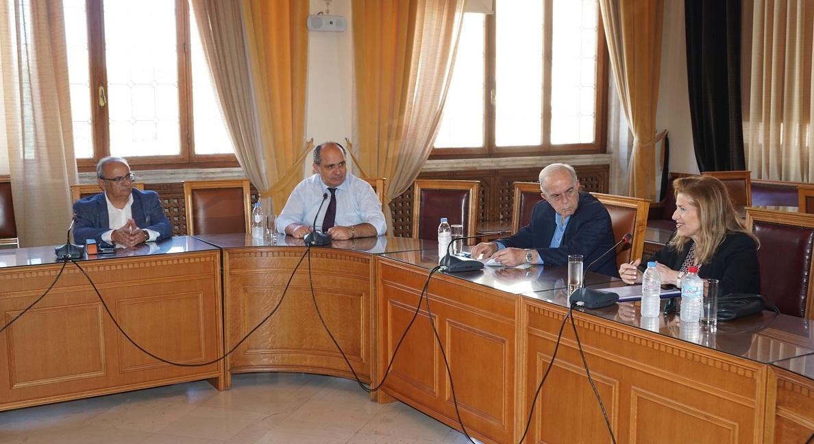 Η γενική Γραμματέας επεσήμανε ότι το Υπουργείο θα φροντίσει για την επίσπευση των διαδικασιών.