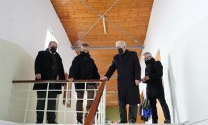 Στο 21ο Δημοτικό Σχολείο της Φορτέτσας ο Δήμαρχος Ηρακλείου Βασίλης Λαμπρινός – Ολοκληρώθηκαν οι εργασίες  αποκατάστασηςΟλοκληρώθηκαν οι εργασίες για την «Αποκατάσταση της φέρουσας ικανότητας του 21ου Δημοτικού Σχολείου Ηρακλείου (Φορτέτσα)».
