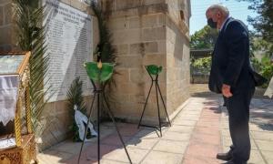 Τίμησαν την μνήμη των 62 Μαρτύρων – Δήμαρχος Ηρακλείου  Βασίλης Λαμπρινός: «Οι 62 Μάρτυρες εξακολουθούν να μας δείχνουν τον δρόμο της Ευθύνης, της Ελευθερίας, και της Τιμής»Αρχιερατικό Μνημόσυνοστη μνήμη των 62 Μαρτύρων που εκτελέστηκαν την περίοδο της Γερμανικής Κατοχής, πραγματοποιήθηκε το πρωί της Δευτέρας 14 Ιουνίου, στο εκκλησάκι των Αγίων Πάντων, στο Γάζι.