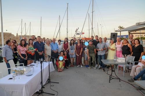 Ο Δήμαρχος και η Αντιδήμαρχος Παιδείας Στέλα Αρχοντάκη απένειμαν επαίνους, σε όλους τους εκπαιδευτικούς που συμμετείχαν εθελοντικά στο Κοινωνικό Φροντιστήριο .